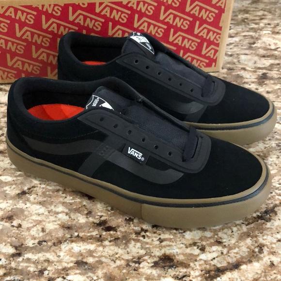 Vans Shoes   Vans Av Rapidweld Pro Black Gum   Poshmark